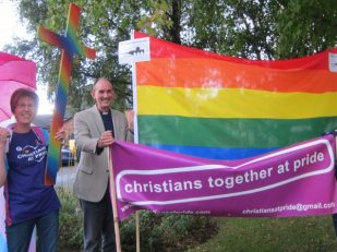 Christians Together at Salisbury Pride -- Ana Gobledale