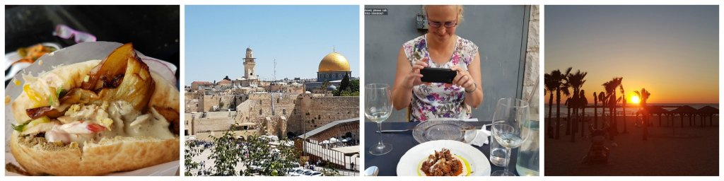 collage vakantie Israel
