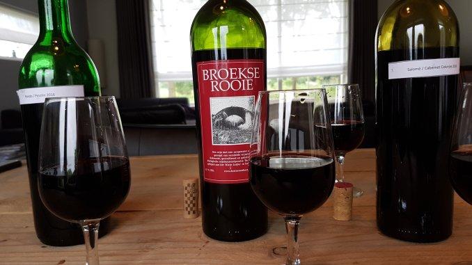 Rode wijnen winnaars voorproeverij