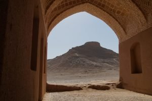 Towers of silence in Yazd
