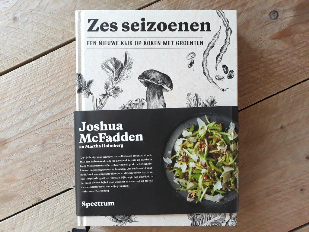 Zes seizoenen kookboek cover