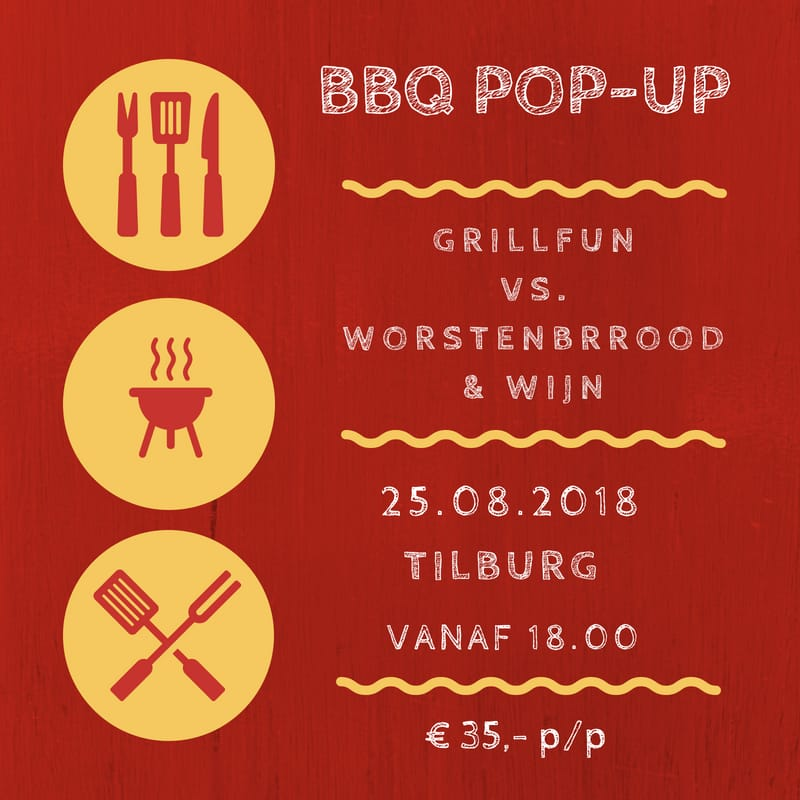 BBQ pop-up 25/8