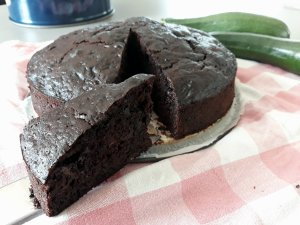 Courgette-chocoladecake