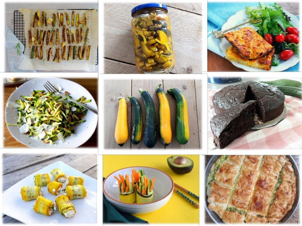 collage lekkerste courgette recepten monsterblog