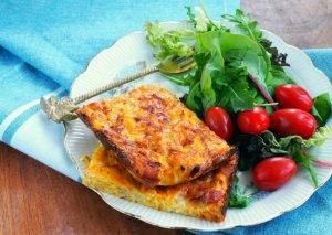 zucchinislice van Metz kookt over