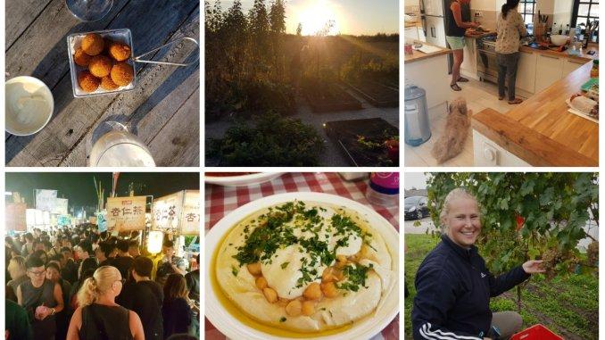 Collage achter de schermen worstenbrood en wijn blog