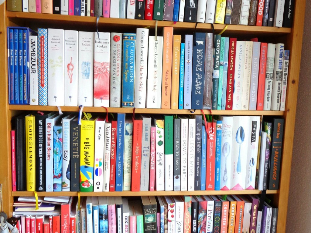 Kookboeken van Jeanette van de Lindt