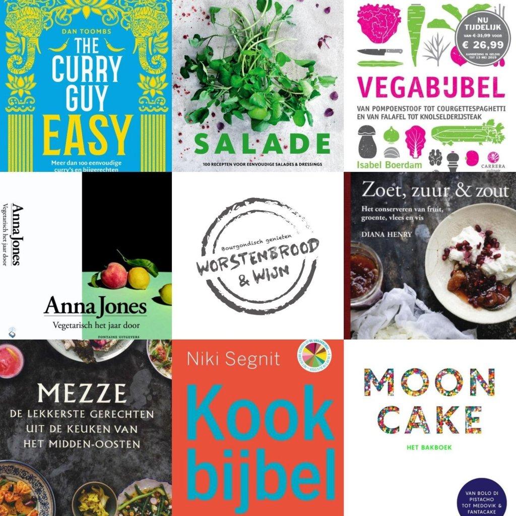 Kookboekboekrecensies voorjar 2019