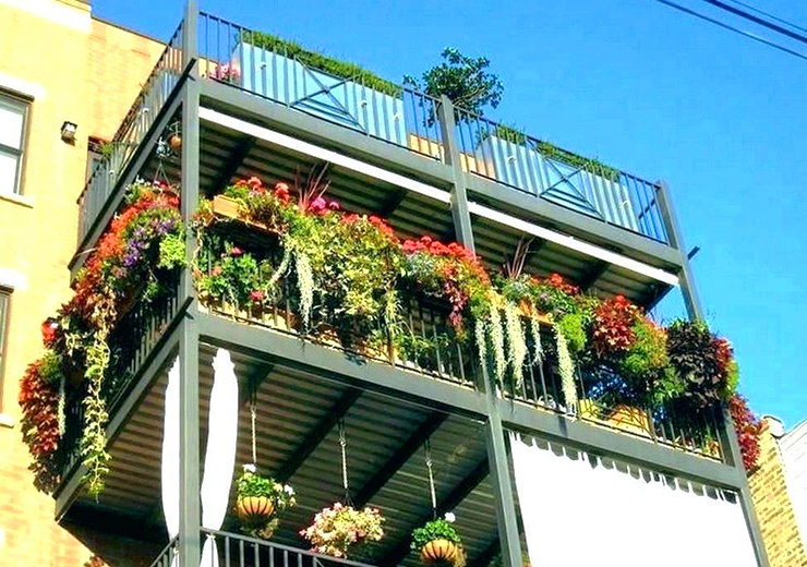 28 Apartment Garden Ideas That Will Activate Your Green Thumb Wr