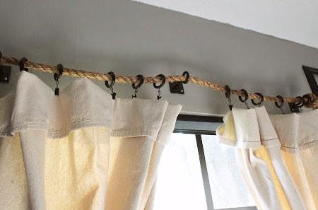 5 curtain rod alternatives for an