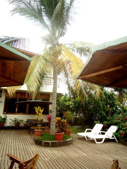 Hotelterrasse des San Vincente, Isabela
