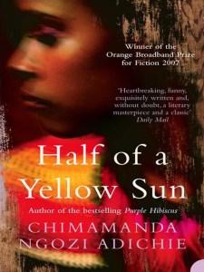 Book Recommendation: Half of a Yellow Sun by Chimamanda Ngozi Adichie