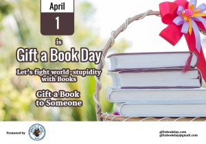 April 1 is Gift a Book Day
