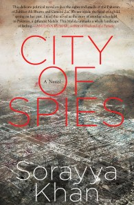 Book Recommendation: City of Spies by Sorayya Khan