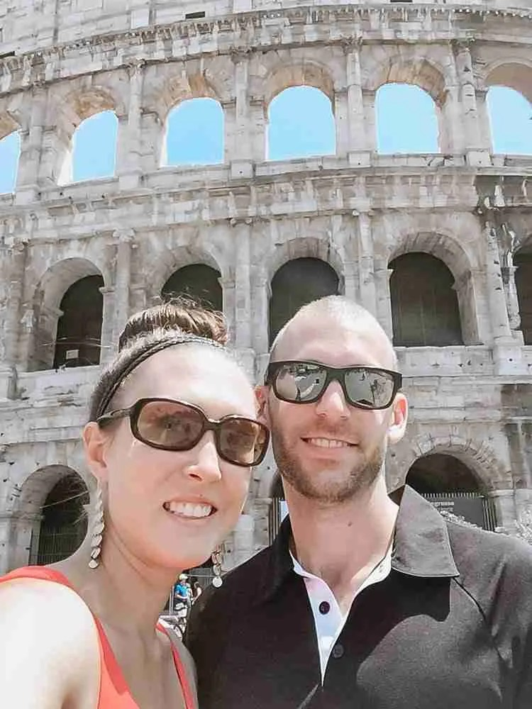 Travel as a Couple Roman Colosseum