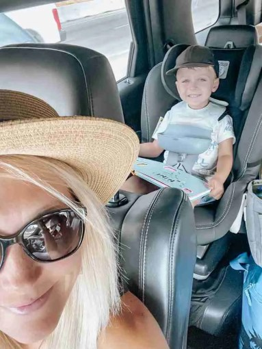 family road trip with toddlers