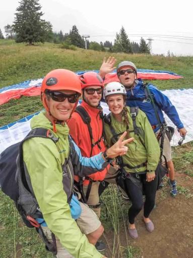 Paragliding in Switzerland prepaid attraction