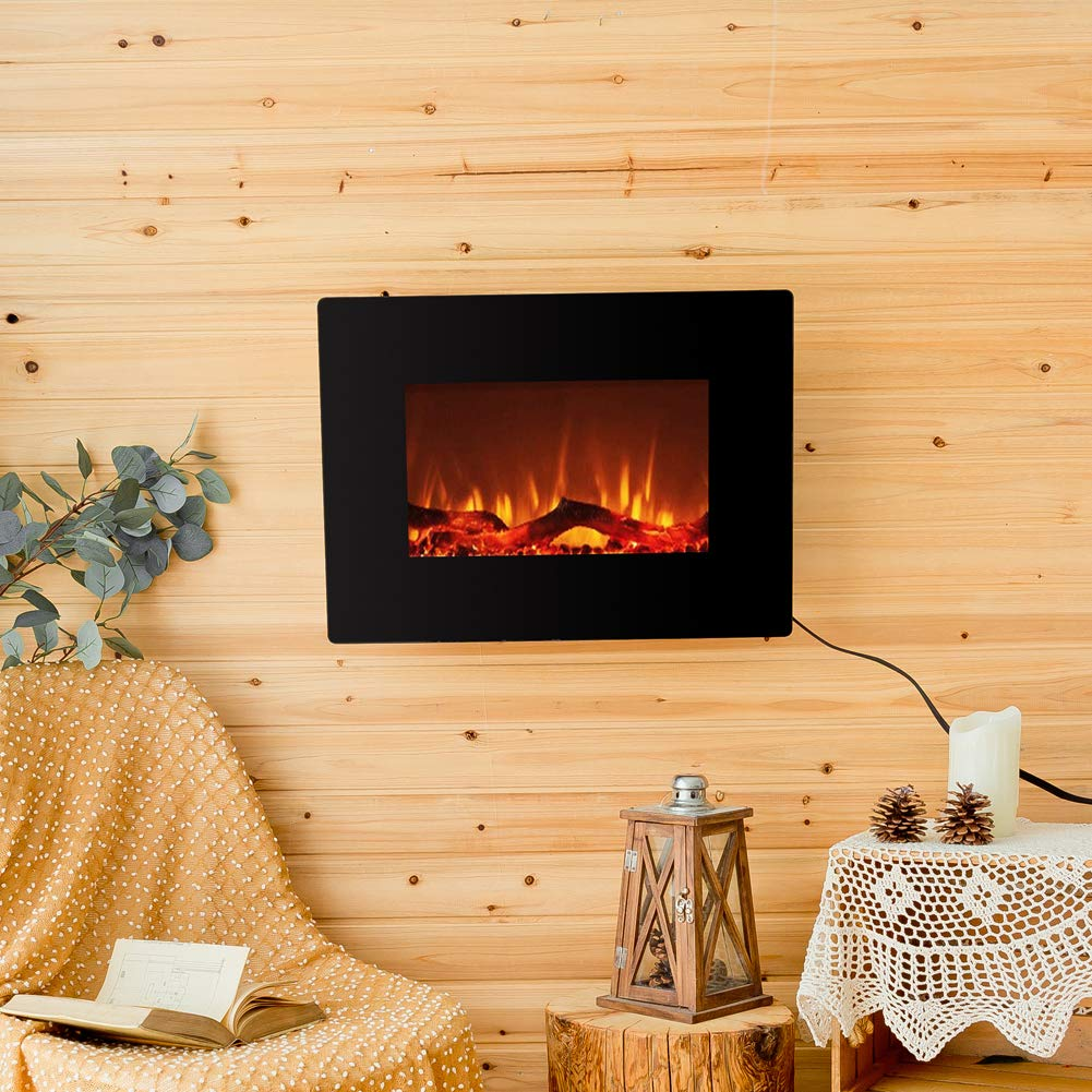 FLAME&SHADE Electric Fireplace Insert Freestanding