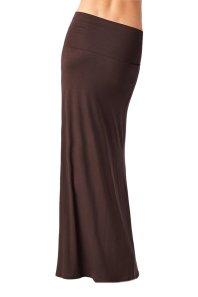 Azules Women_s Rayon Span Maxi Skirt_3