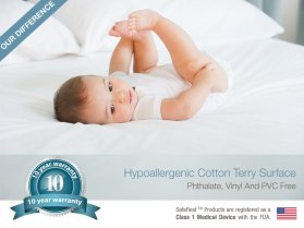 SafeRest Premium Hypoallergenic Waterproof Mattress Protector_4