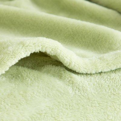 Microfiber Solid Blanket by Bedsure_3