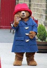 "Paddington says ""Hello!"" .."