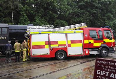 Keighley Fire Brigade lend a hand with watering