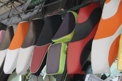 An upholstery shop that specializes in moto seats