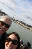Teaching Dad the art of the selfie
