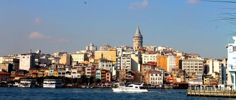 Galata during the day