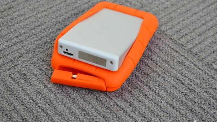 LaCie 2TB Rugged Thunderbolt External Hard Drive (USB 3.0)