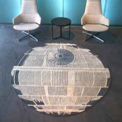 Fancy – Death Star Rug