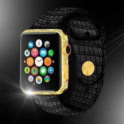 Fancy – 24ct Gold Apple Watch Classic Edition
