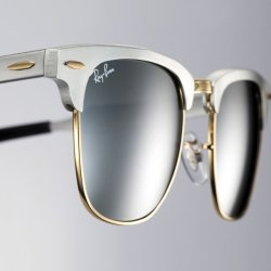 Fancy – Ray-Ban Clubmaster Aluminum