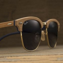 Fancy – Ray-Ban Clubmaster Wood