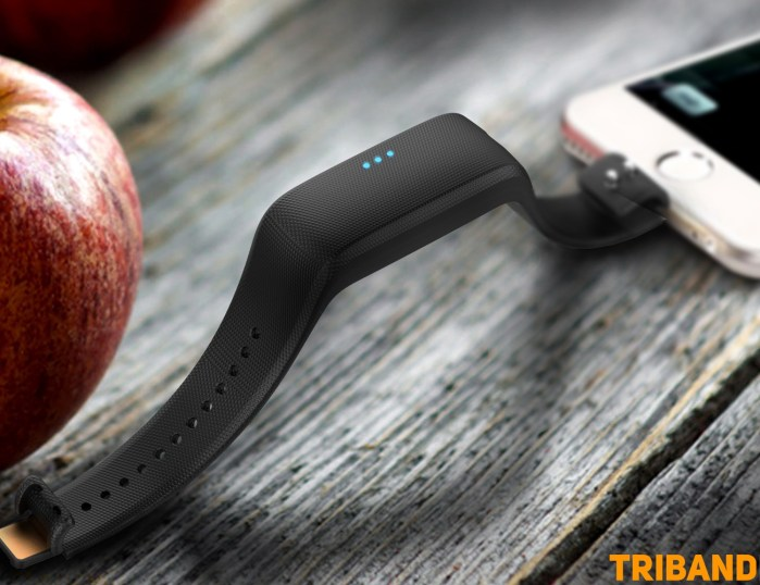 Triband Plus: The Wearable that Charges your Phone