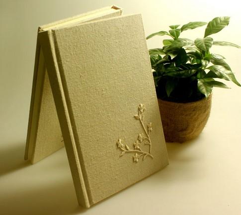 布面刺绣笔记本