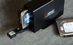 奥睿科/ORICO 7629SUSC 3.5寸立式双盘位硬盘盒子