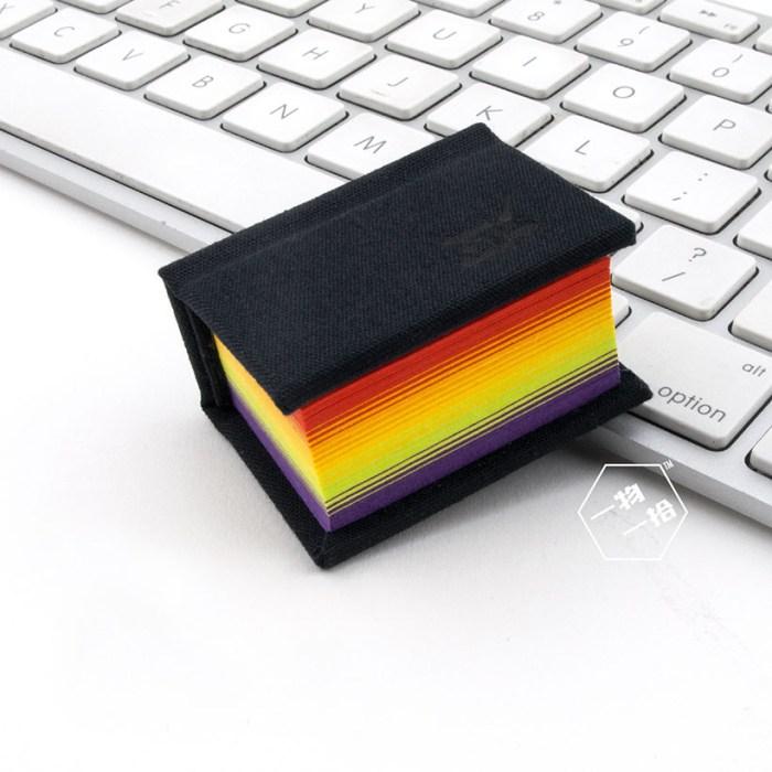 彩虹页笔记本
