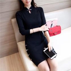 中式复古旗袍