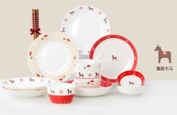 Housemate/秀色可餐创意陶瓷碗碟套装