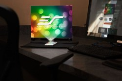 Elite Portable Table Projection Screen