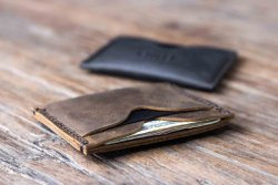 Handmade Minimal Leather Wallet