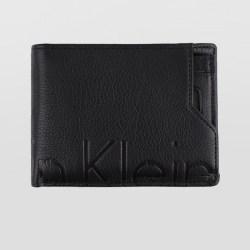 Calvin Klein/卡尔文克雷恩 男士短款牛皮钱包/票夹 HP0513