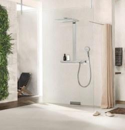 Hansgrohe汉斯格雅幻雨魔法师Select 420恒温平台淋浴套装