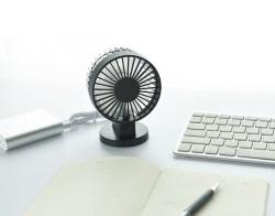 日式简约USB风扇桌面迷你双叶风扇