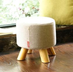 KUKa/顾家家居 居家小件矮凳子时尚简约布艺款
