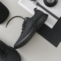 毛毡布休闲运动男鞋
