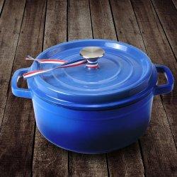 LlNTORE朗特乐 铸铁珐琅汤锅 家用加厚搪瓷锅