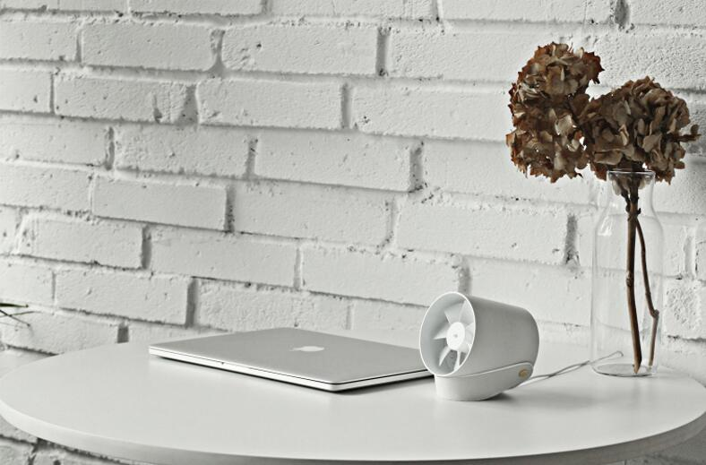 VH智能触控电风扇,迷你USB风扇超静音